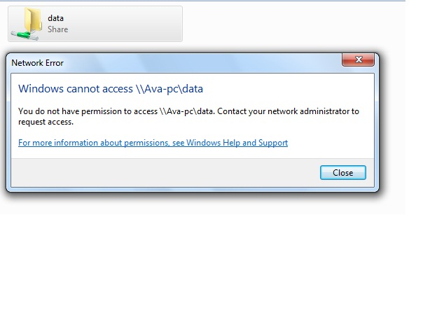 windows cannot access sharing folder | Ngulik Komputer